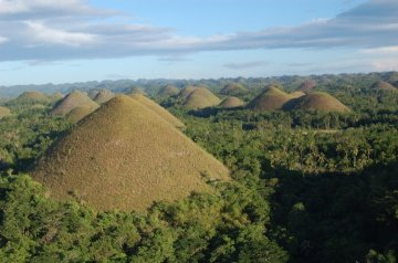 The famed Chocolate Hills. Taken in Bohol, May 2010.